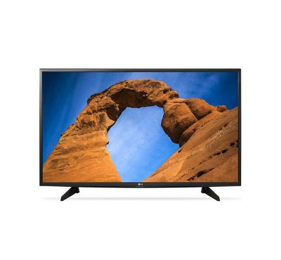 LG 43 inch LED TV Full HD, Slim Bezel, Black