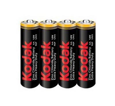 Kodak Extra Heavy Duty 4 x 5 packs AA Battery