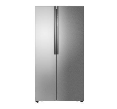Haier SBS Refrigerator,17.9 Cft, ACM Steel Color,