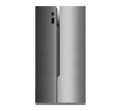 Hisense 670.0L SBS Fridge Touch Control Stainless Steel