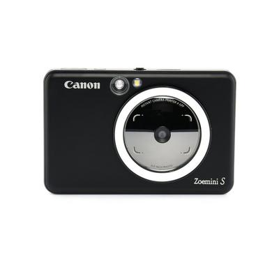Zoemini S MBK--Zoemini S 2-In-1 Camera, Zink print technology, Matte Black