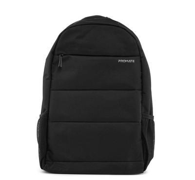 بروميت حقيبة ظهر لأجهزة اللابتوب 15.6 بوصة، مزودة بحماية، أسود