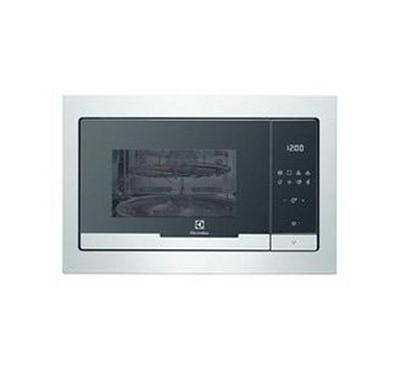 Electrolux 900W 25L Built-in Microwave plus Grill Steel