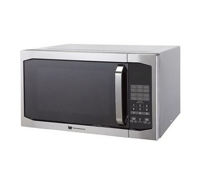 White Westinghouse Microwave Oven with Grill. 42L,Silver