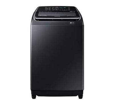 Samsung 16KG Washing Machine Top Load Inverter Black SLS