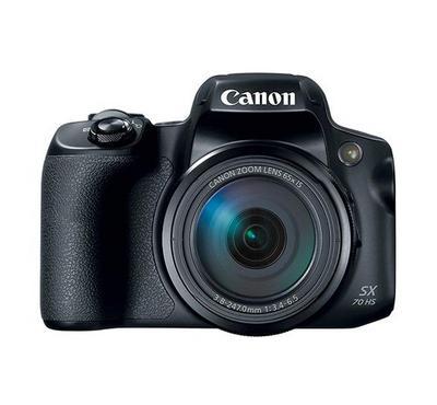 كاميرة كانون شبه احترافية اس اكس 70  بزووم 65 اكس و20 ميجابيكسل