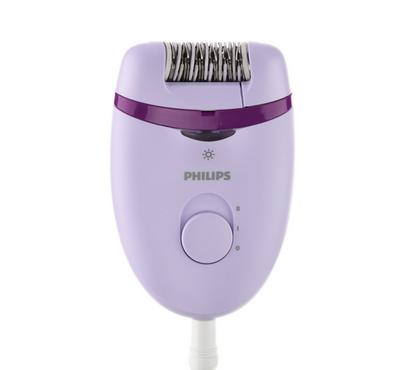 Philips Satinelle Essential Corded Epilator, with Cleaning Brush, Shaver