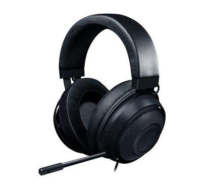 Razer Kraken, Headset Equipped with 7.1 Surround Sound software, Black