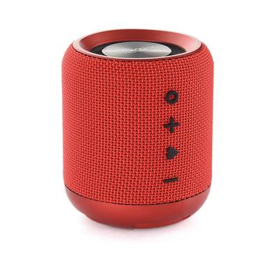 PROMATE HUMMER Wireless Speaker 10W with FM, Red