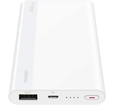 Huawei Fast Charging Power Bank, 10000mAh, White