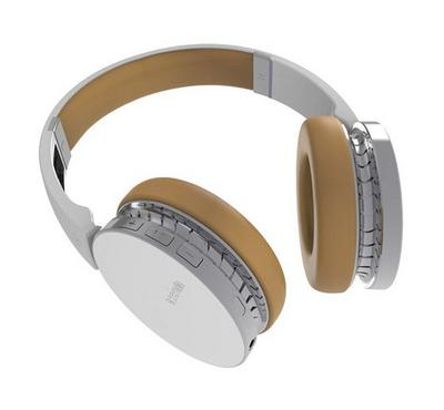 PROMATE Wave Wireless stereo Headset, White