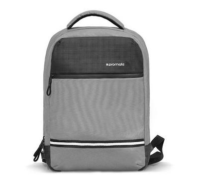 PROMATE Anti-Theft Laptop Backpack with USB Port, 13 inch, Grey