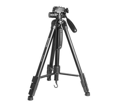 بروميت حامل كاميرا اربعة اقسام مع راس متحرك
