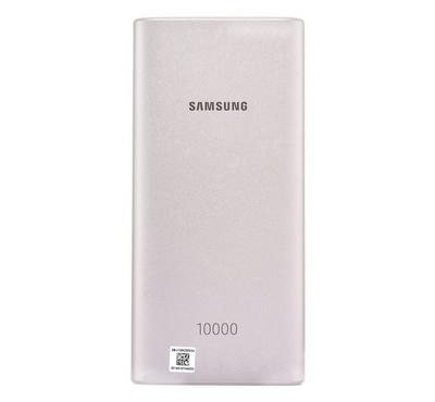 Samsung Wireless Charging Power Bank, 10000mAh, Silver