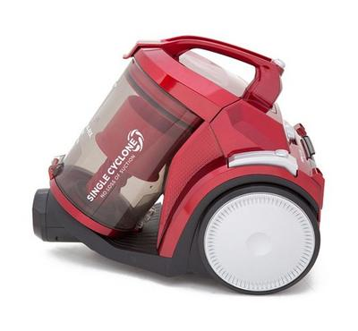 Sharp Canister Type 2000W Vacuum Cleaner Red