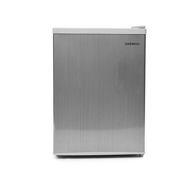 Daewoo Compact Refrigerator, 2.4 Cu ft, Silver color
