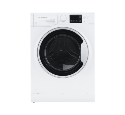 Ariston Front Load Washer 9 KG/ Dryer 6 KG, White
