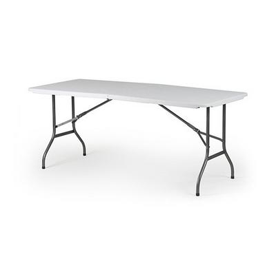 Homez, 6-Ft Regular Fold-In-Half Table, 183X76X74