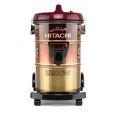 Hitachi Vacuum Cleaner, Drum Type, 21L, 2200W, Wine Red.