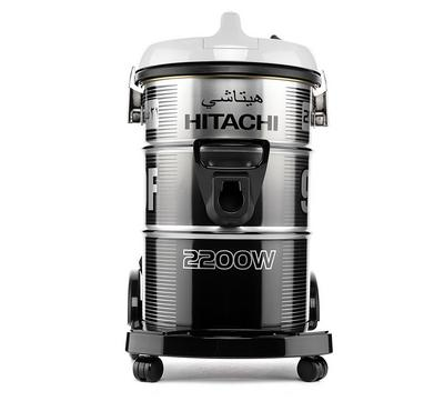 Hitachi Vacuum Cleaner, Drum Type, 21L, 2200W, Platinum Grey.
