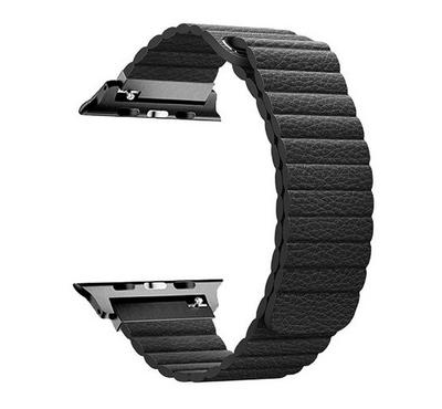 Promate Fiber Strap for 38mm/40MM Apple Watch, Black
