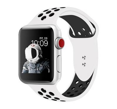 Promate 38mm/40MM Apple Watch Band , White/ Black