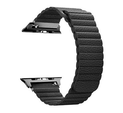 Promate Fiber Strap for 42mm/44MM Apple Watch, Black