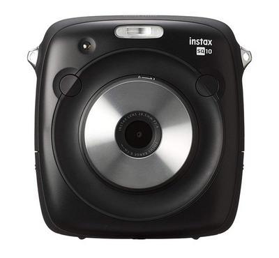 Fujifilm INSTAX SQUARE SQ10 Hybrid Instant Camera Black