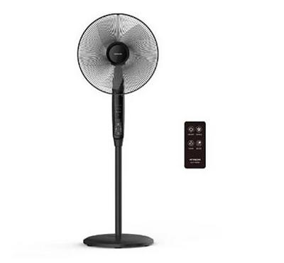 Hitachi 16-inch Stand Fan Black