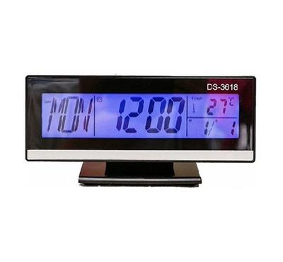 RSC Voice Control Backlight LCD Clock