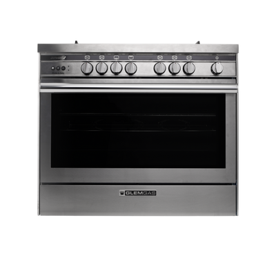 Glem Gas Cooker 90X60,Stainless Steel