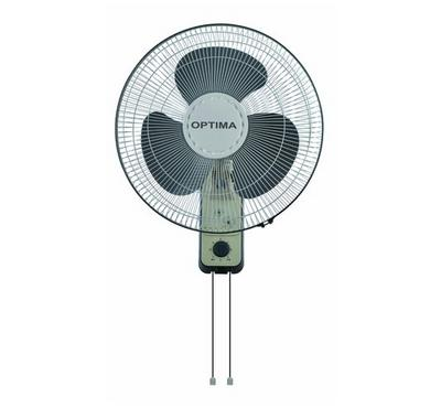 Optima 16-Inch Electric Wall Fan 60W, Ivory Ash