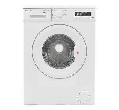 Hoover Washing Machine, Front Load, 6KG, 1000rpm, White