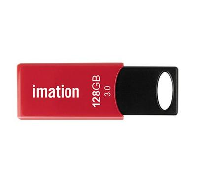 Imation SLEDGE 128GB USB3.0 Flash Drive Black/Red