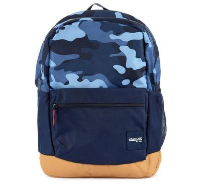 CASE LOGIC Commence Backpack, Blue/Cumin, 13 inch