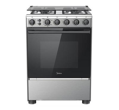 Midea 60x60cm Gas Cooking Range With Grill F/S Stainless
