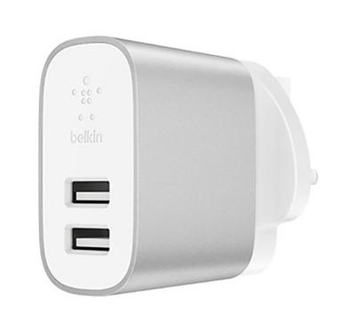 Belkin Home Charger, 2 Ports, 24W, White
