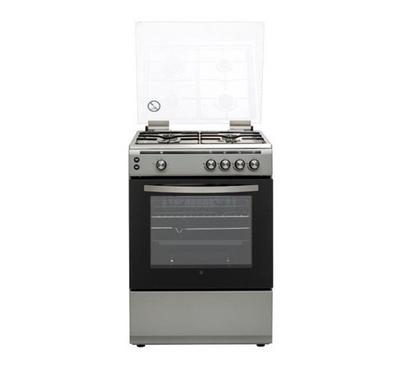 Hoover Gas Cooker, 60 x 60, Freestanding, Silver