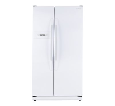 Daewoo Side by Side Refrigerator, 23.3 Cu.Ft,White