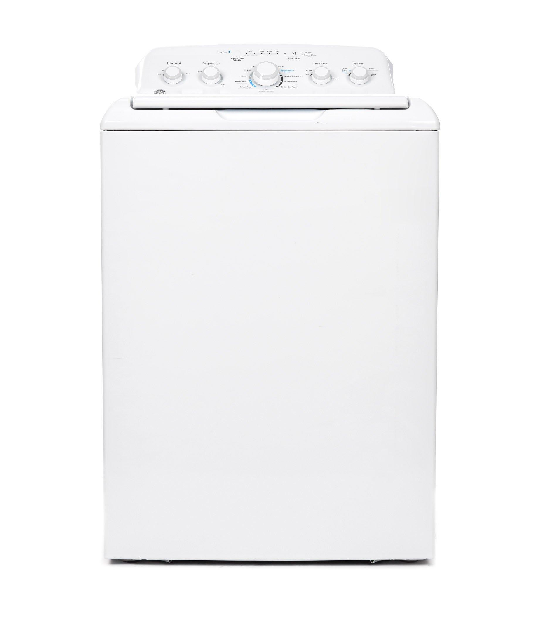 GE Top Load Washer, 9 kg, Heavy Duty Motor,White