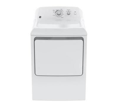 GE Clothes Dryer, 6 kg, 2 Knob, 3 Dry Cycles, White Color, XL Metal Door