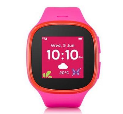 الكاتيل موف تايم إم تي30، ساعة ذكية للأطفال، فوشيا / أحمر