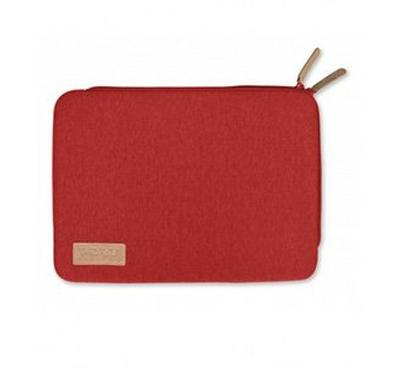 Port Torino skin 13.3 inch sleeve case red with mouse