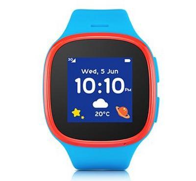الكاتيل موف تايم إم تي30، ساعة ذكية للأطفال، أزرق/ أحمر