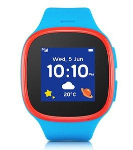 Alcatel Movetime MT30 Kids Watch, Blue/ Red
