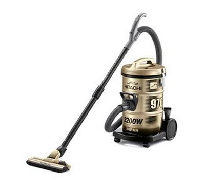 Hitachi 970Y 21.0L Drum Vacuum Cleaner 2200W Titanium Gold