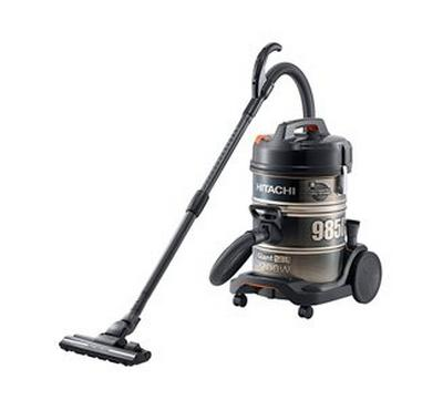 Hitachi 985D 23.0L Drum Vacuum Cleaner 2200W Gold Black