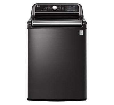 LG Top Load Washing Machine, 24Kg ,Black Stainless