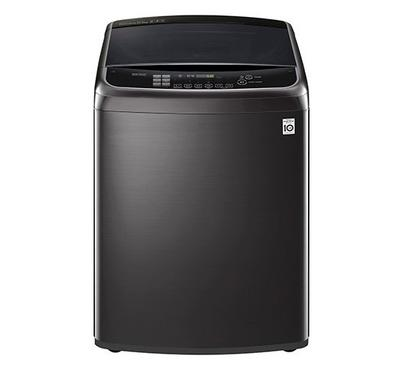 LG Top Load Washing Machine, 21Kg ,Black Stainless