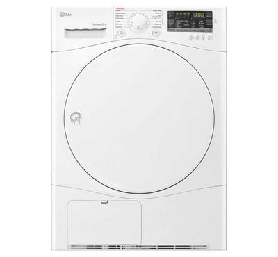 LG  Dryer, 7kg, Sensor Dry, Condensing Type,White